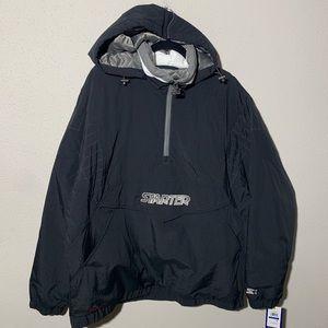 NWT STARTER Men's XL Quilted Windbreaker Jacket